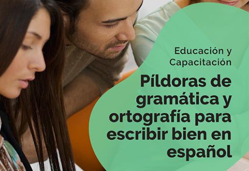eBook -Píldoras de gramática en español